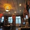 カーテンとペルシャ絨毯の施工