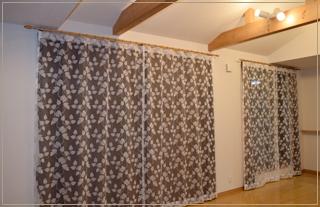24:クロスとカーテンのコーディネートと施工