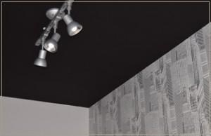 クロスと照明のコーディネート及び施工