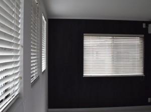 壁紙、カーテンのコーディネート、カーテンの施工