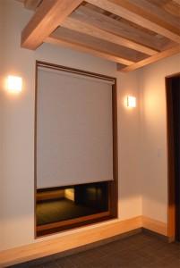 建築全体のコーディネート、カーテンの施工