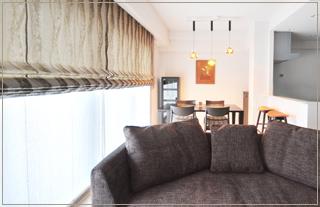 マンションの家具、照明、カーテン、建具、ふすまの張替えコーディネート及び施工